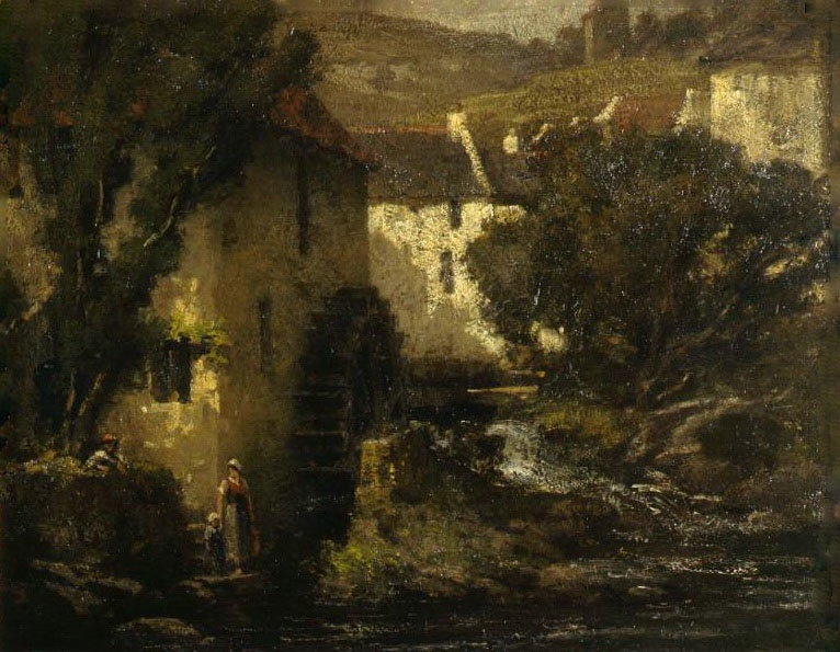 Gustave Courbet. The Water Mill