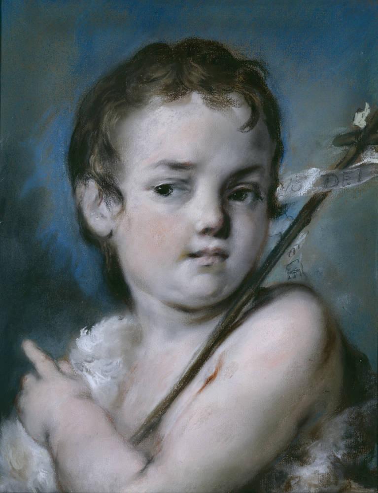 Rosalba Carriera (Carrera). Юный Иоанн Креститель