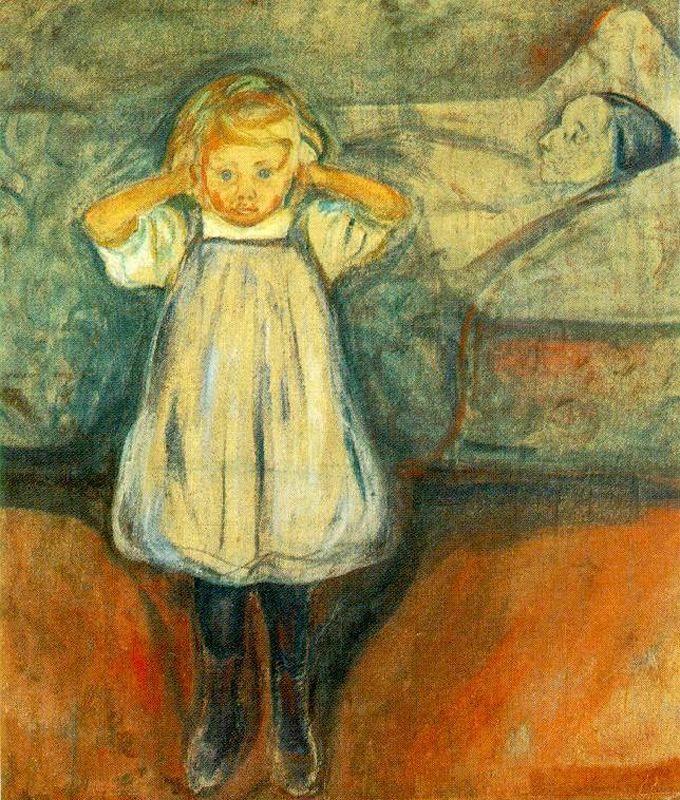 Edvard Munch. Dead mother