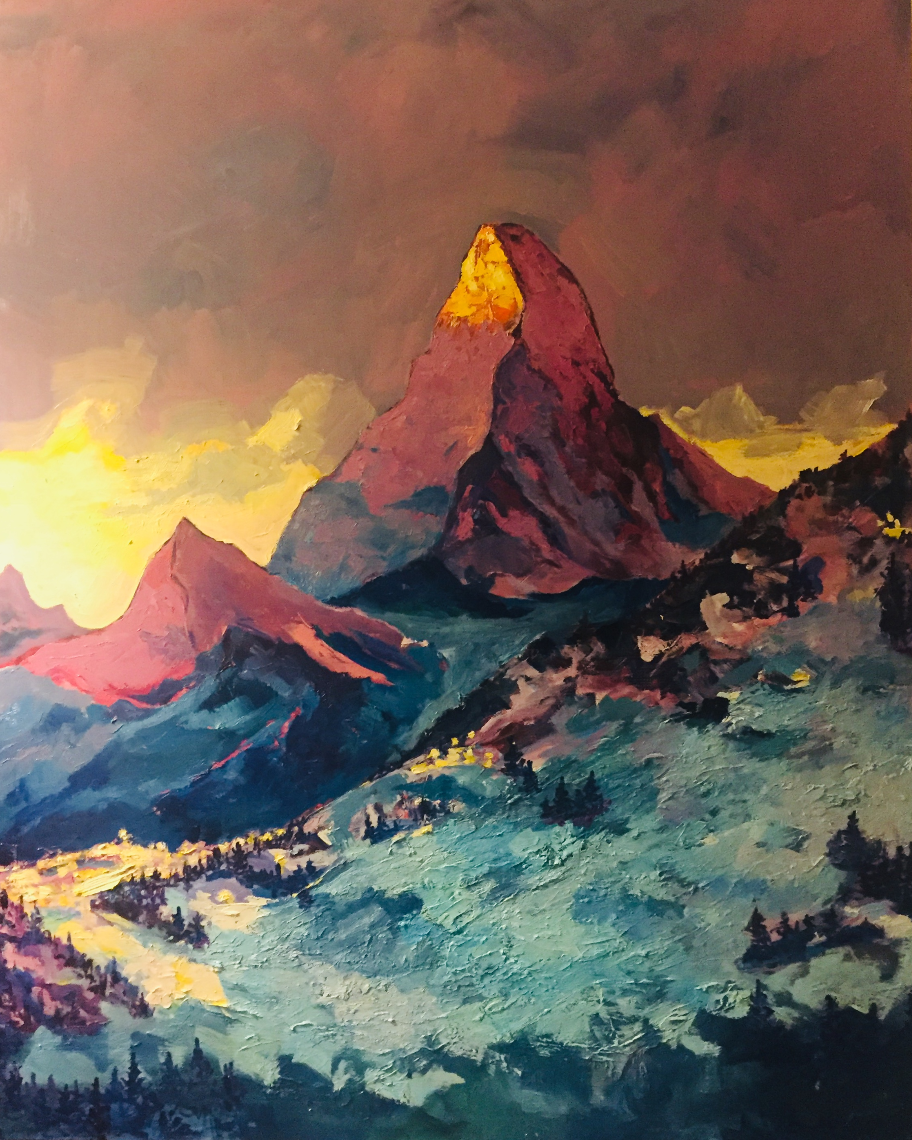 Yevgeny Yastrebov. Matterhorn