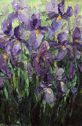 Svetlana Holodnyak. Irises