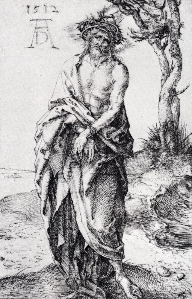 Альбрехт Дюрер. Муж скорбей и со связанными руками