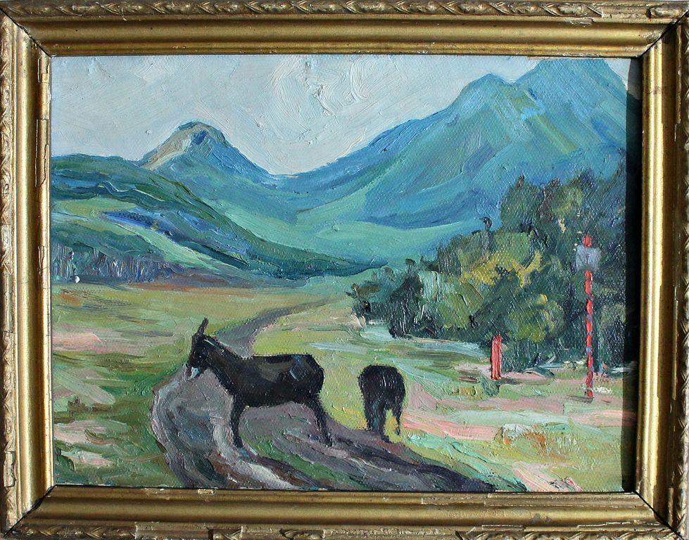 Vsevolod Timofeevich Tsymlov. Donkeys