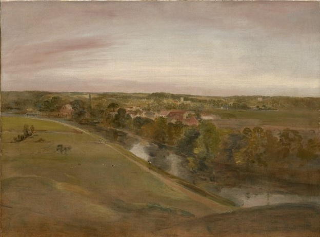 John Constable. Landscape, Stratford