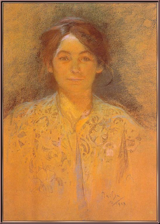 Маруска Муха. Портрет женщины