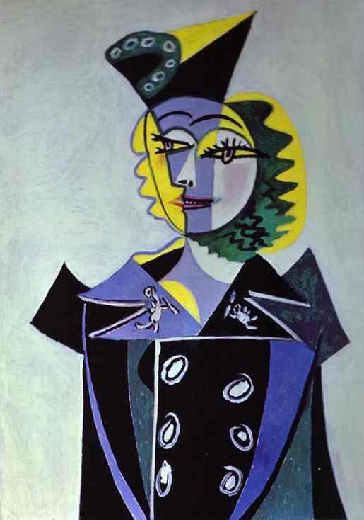 Пабло Пикассо. Нуш Элюар