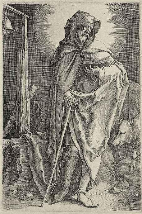 Лукас ван Лейден (Лука Лейденский). Святой Герард