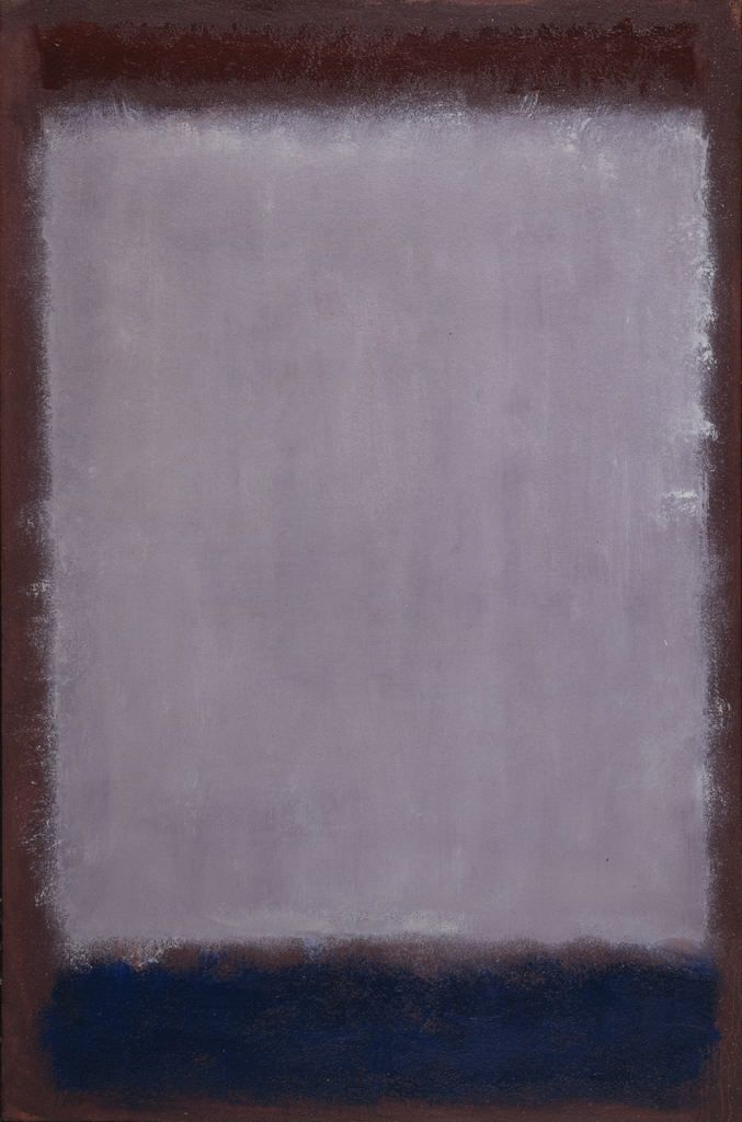 Rothko Mark. Lavender and mulberry
