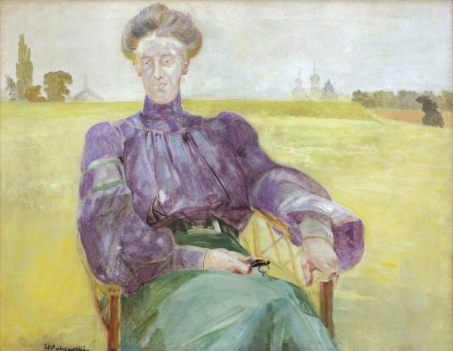 Яцек Мальчевский. Портрет Марии, жены художника