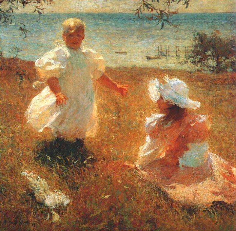 Frank Weston Benson. Sisters