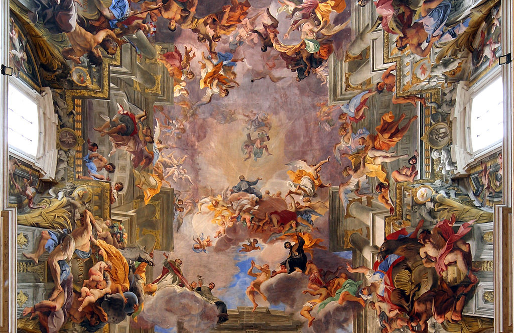 baroque art its features Baroque art is a period of artistic style that used exaggerated emotion and clear details representation in a sore of theatrical setting to easily be interpreted.