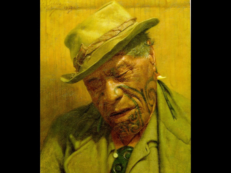 Чарльз Голди. Мужчина в шляпе