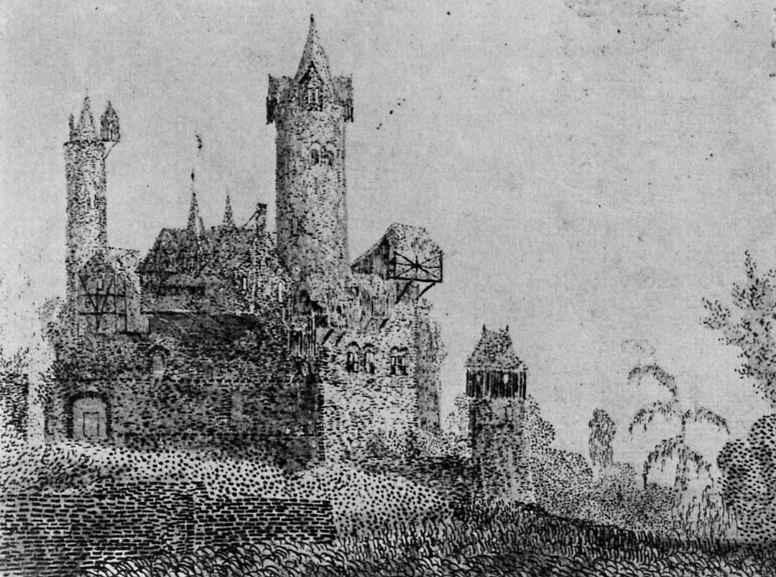 Херкюлес Питерс Сегерс. Замок с высокими башнями