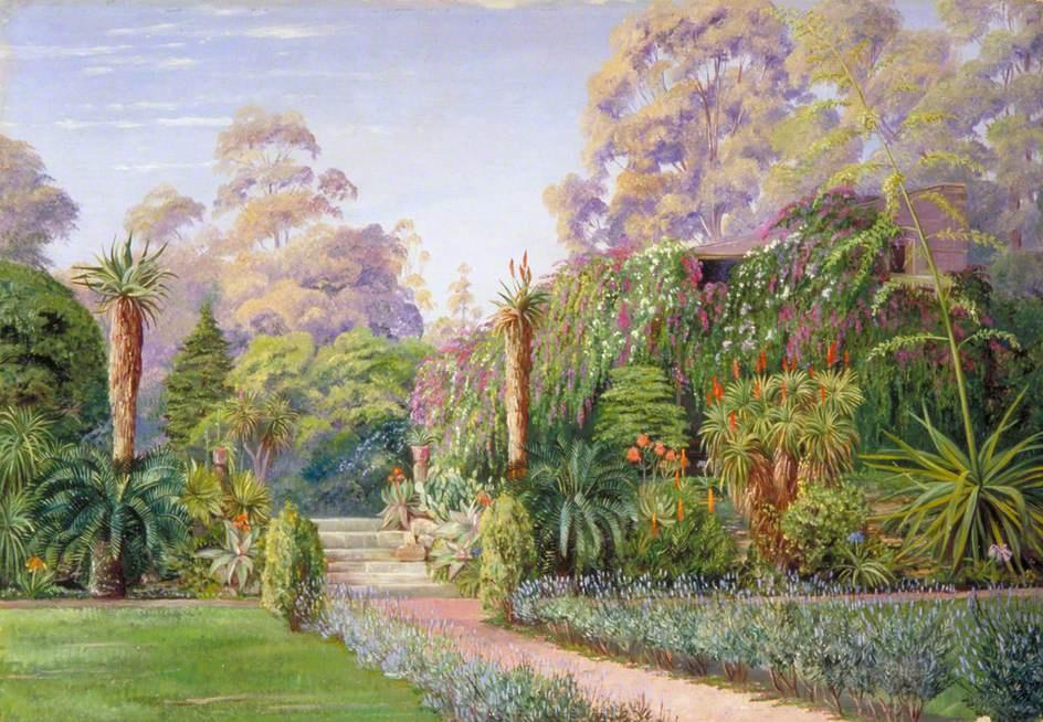 Marianna North. In Dr. Atherstone's Garden, Grahamtown