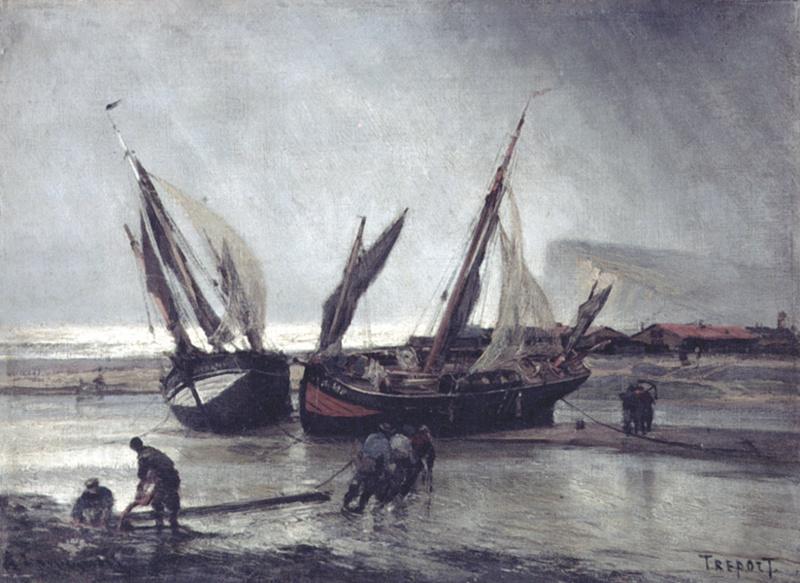 Алексей Петрович Боголюбов. Отлив в Трепоре