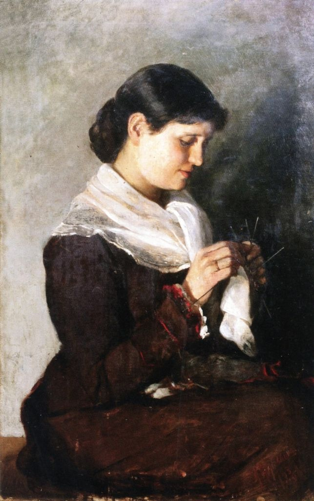 Marianne von Werefkin. Portrait Of Vera Repina
