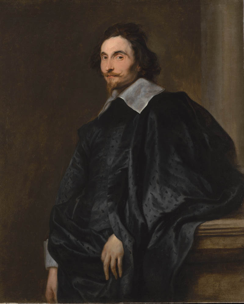 Anthony van Dyck. The portrait of Mr. may, the Abbe Cesare Alessandro Scaglia