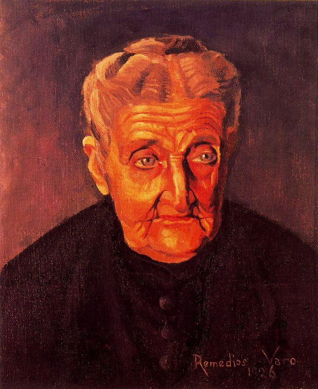 Ремедиос Варо. Мужской портрет