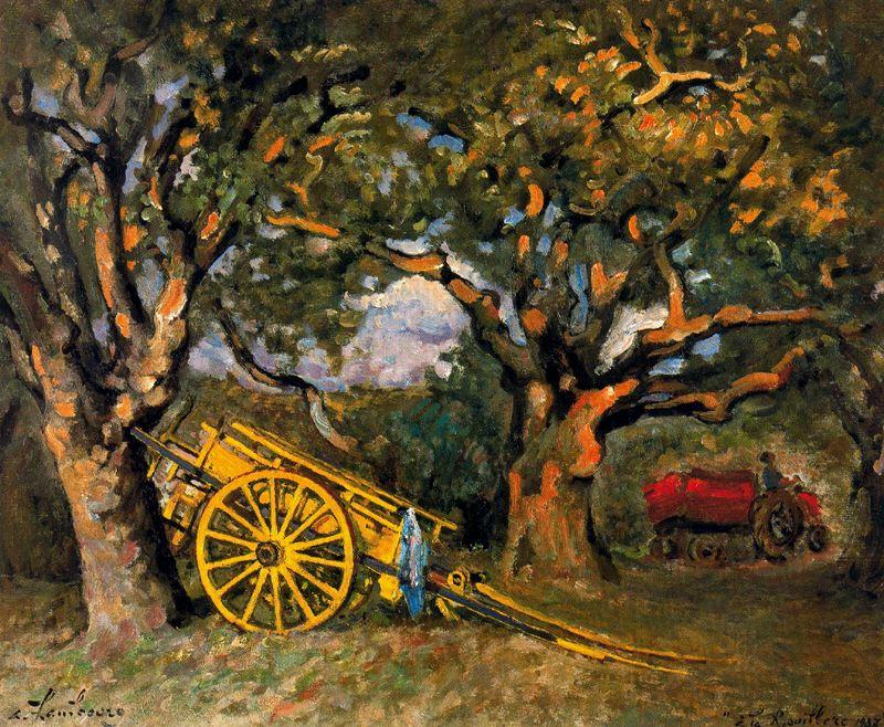 Андре Хамбоург. Старые деревья