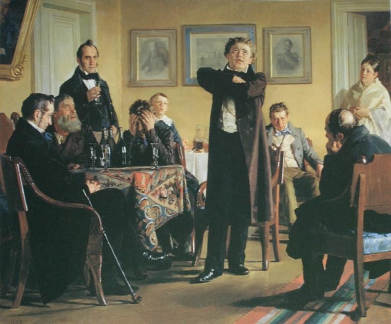Nikolai Vasilyevich Nevrev. Mochalov among his admirers. 1888