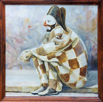 Alexander Pavlovich Kurganov. Harlequin