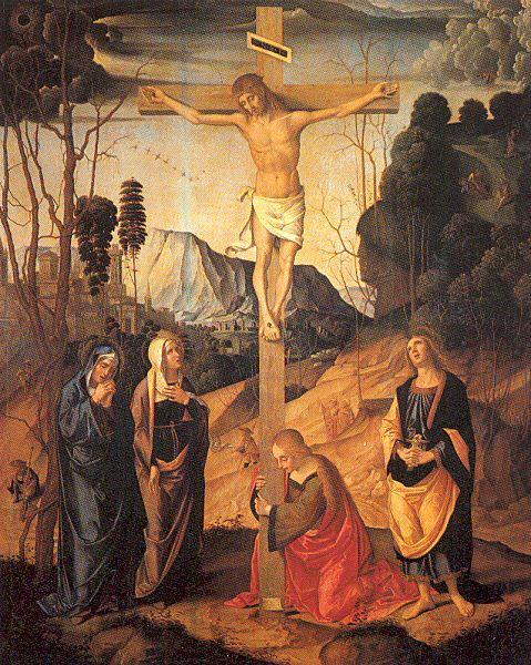 Марко Палмеззано. Распятие Христа