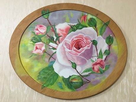 """Alexander Nikolaevich Gorokhov. """"Roses"""""""