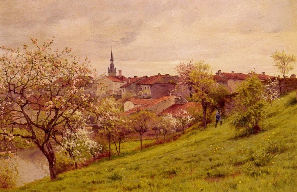 Жан Фердинанд Моншаблон. Весна Амьен
