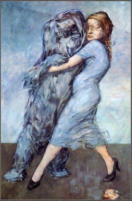 Доротея Таннинг. Голубой вальс