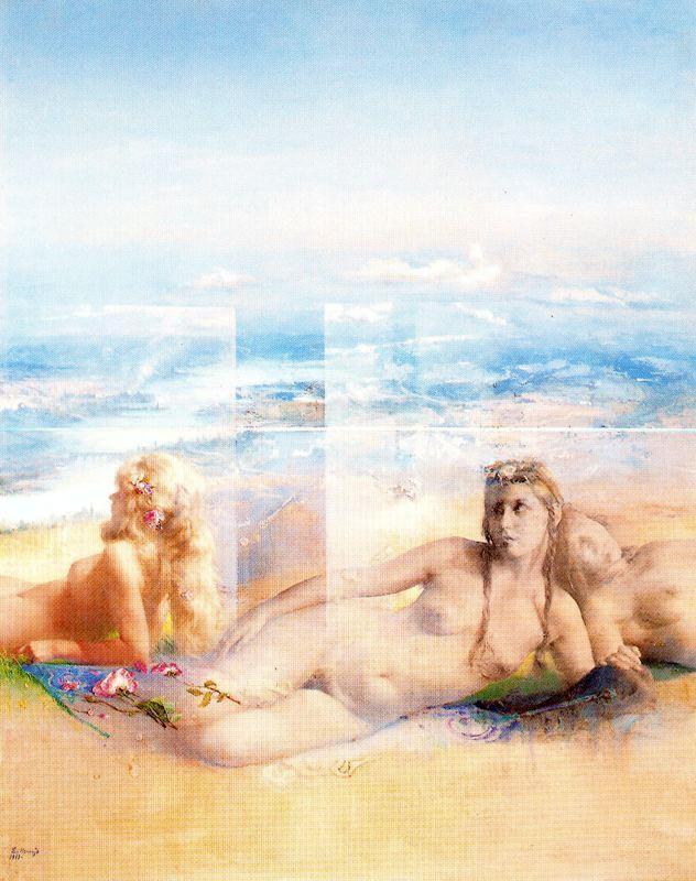 Эдуардо Наранхо. На пляже