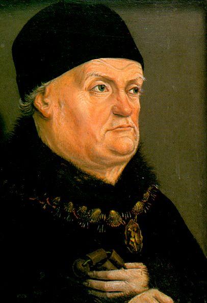 Николя Фромент. Мужской портрет