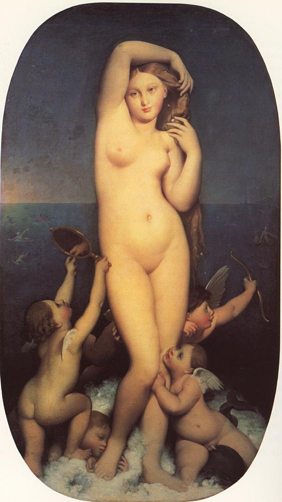 Jean Auguste Dominique Ingres. Venus Of Anadiomena