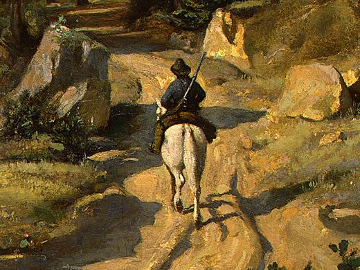 Камиль Коро. На белом коне