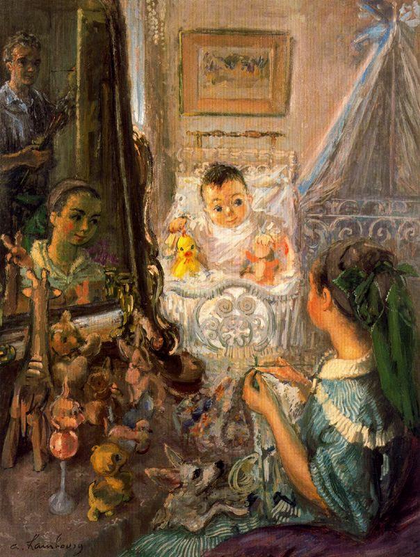 Андре Хамбоург. Младенец