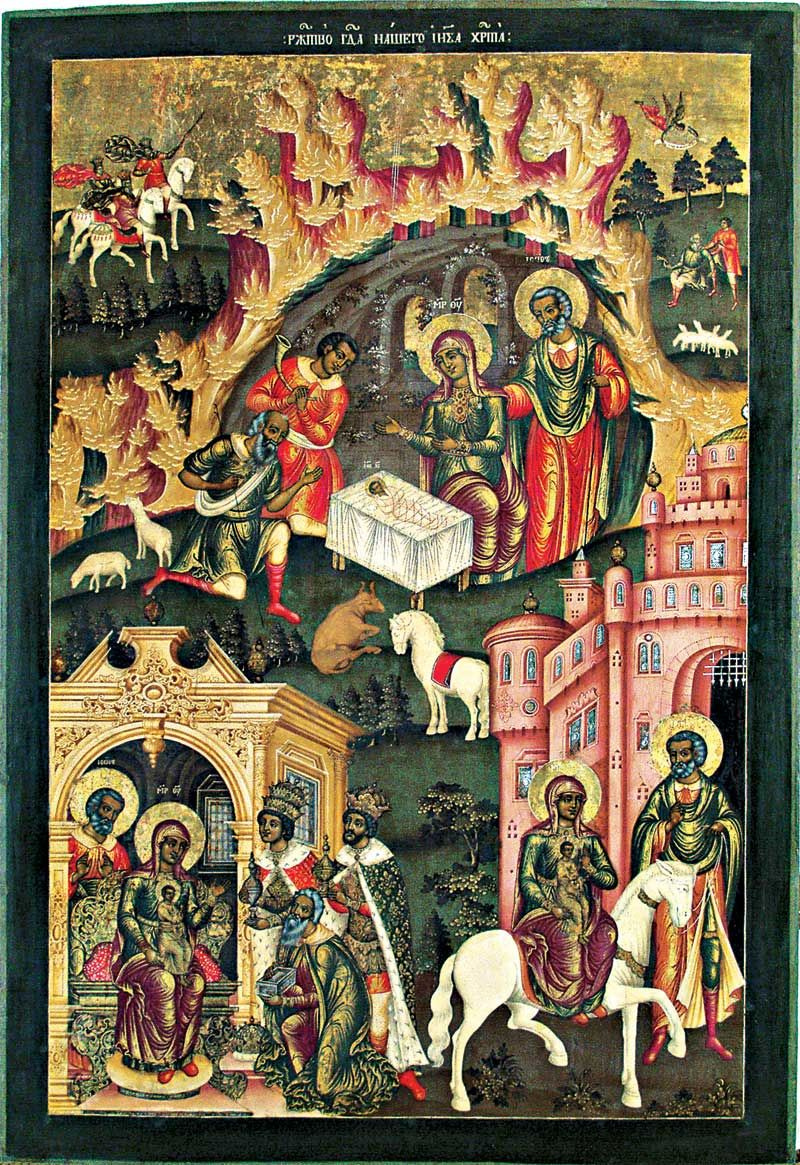 Christmas Iconography.Christmas By Icon Painting History Analysis Facts
