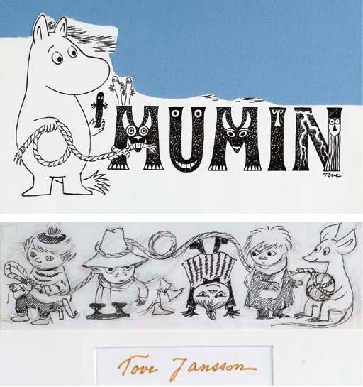 Tove Jansson. Moomin characters (Mumins)