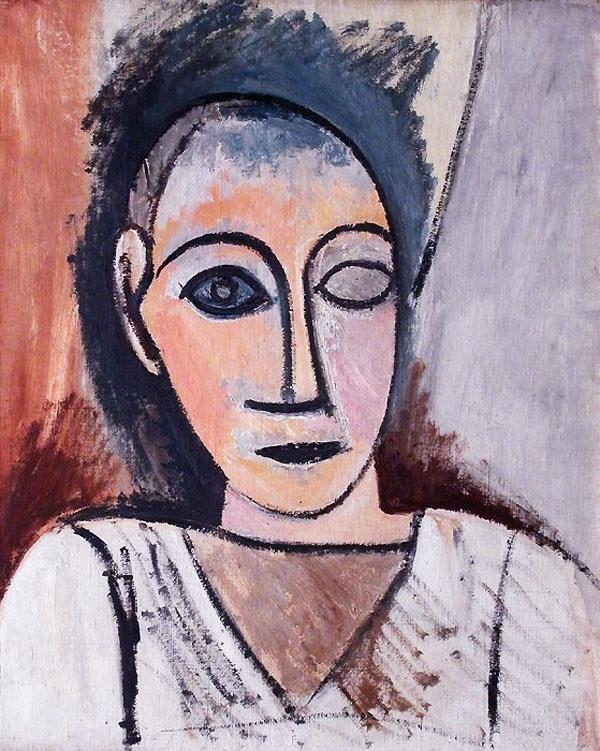 Пабло Пикассо. Бюст мужчины