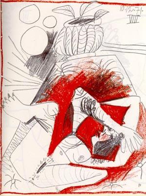 Пабло Пикассо. Сюжет 138