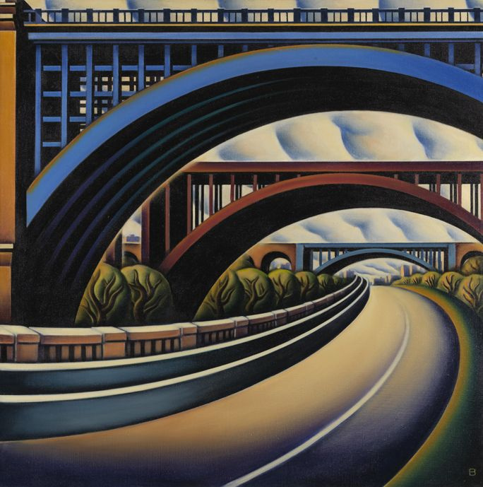 Ann Benson. Мост через реку Гарлем