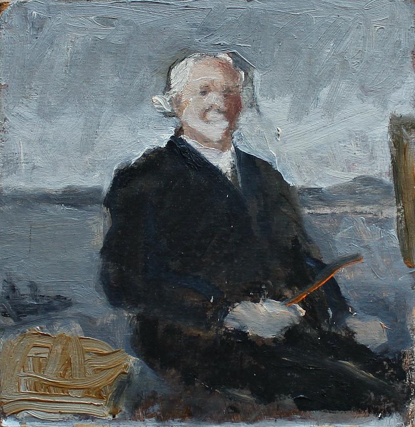 Nikolay Nikolayevich Volodimirov. Self-portrait