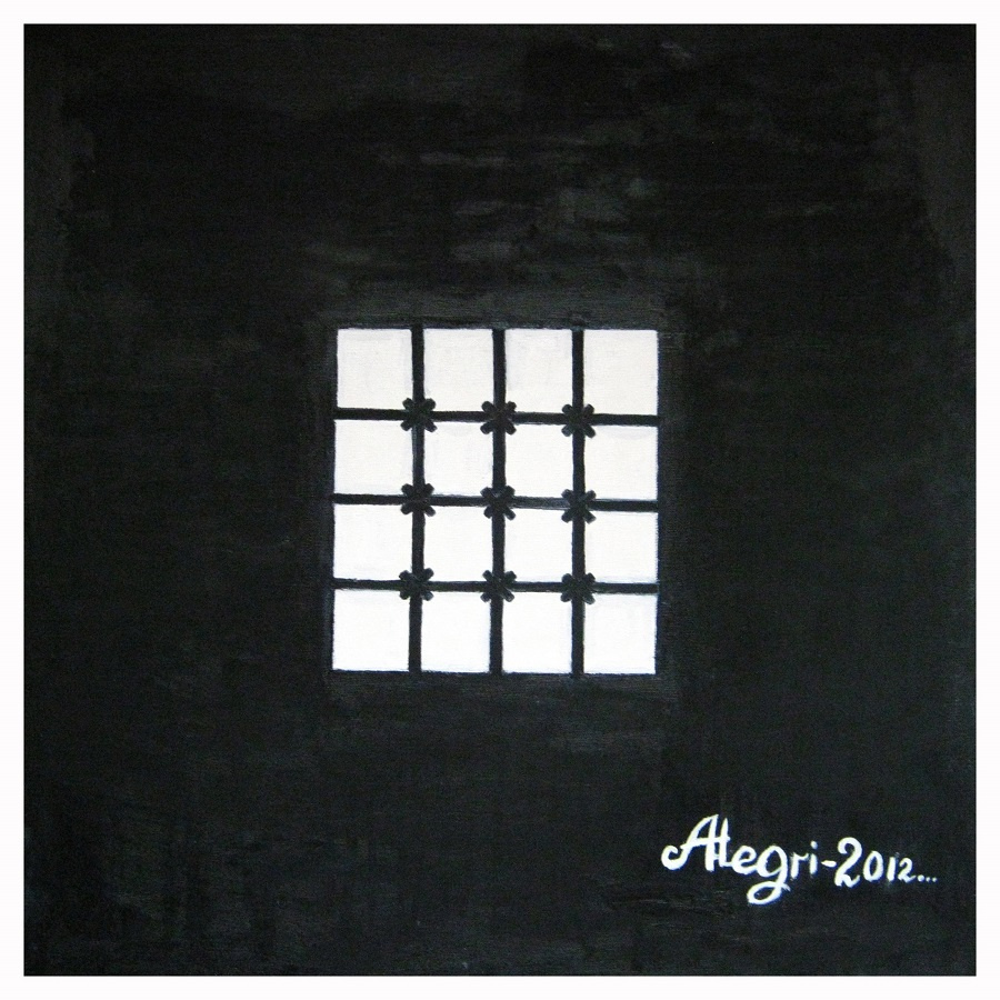 Алексей Гришанков (Alegri). White squares in black square