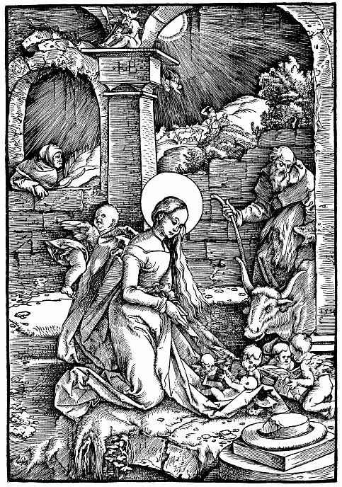 Ханс Бальдунг. Рождество Христа