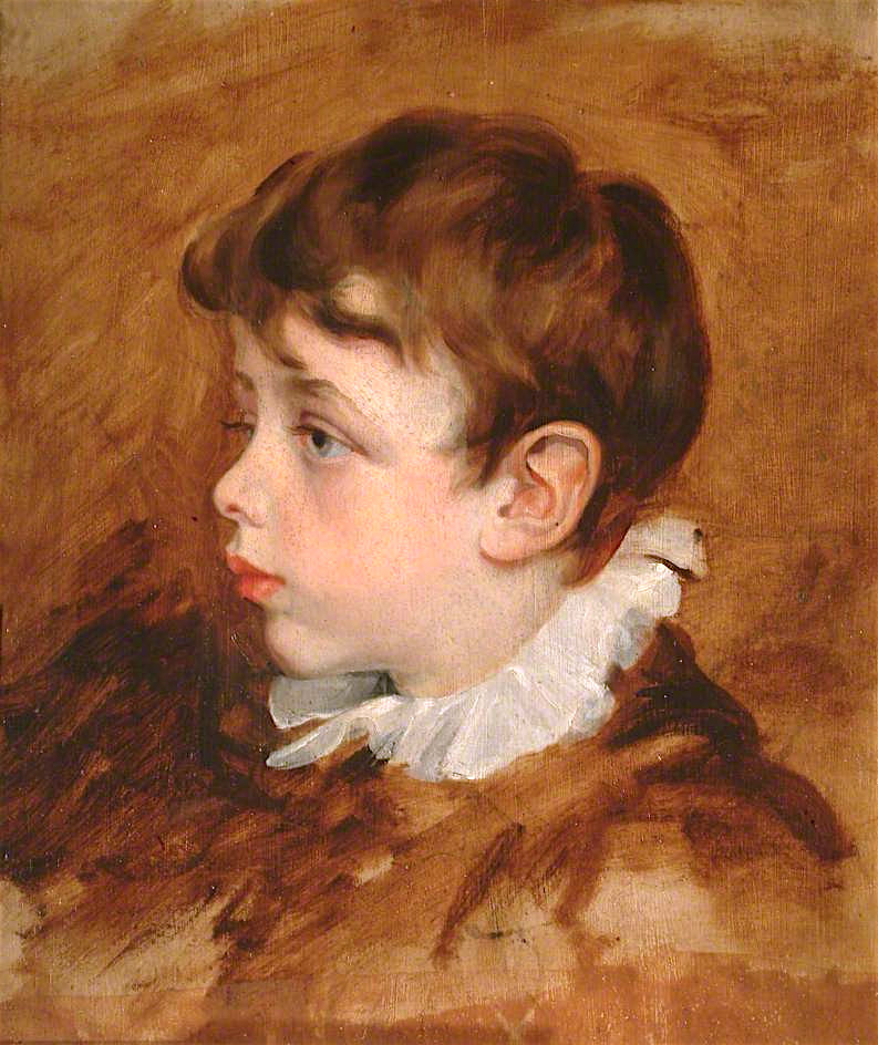 George Frederick Watts. Portrait of a boy