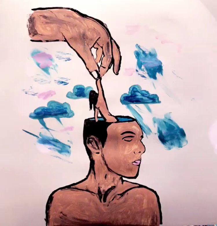 Unknown artist. Get out of my head