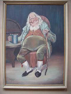 Unknown artist. Drunkard.