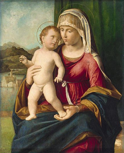 Чима да Конельяно. Madonna col bambino