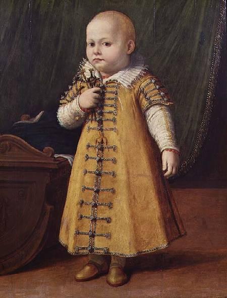 Sofonisba Anguissola. Portrait of a child