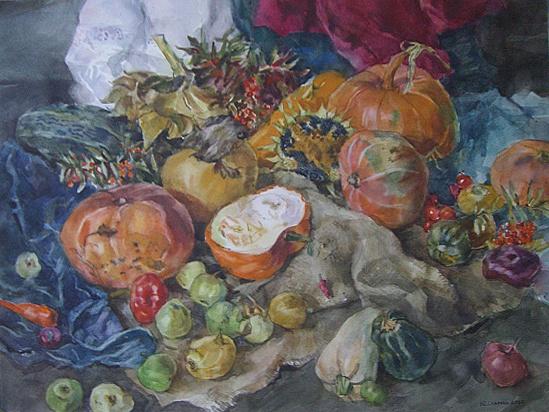 YULIANNA VLADIMIROVNA STAROVA. Pumpkins