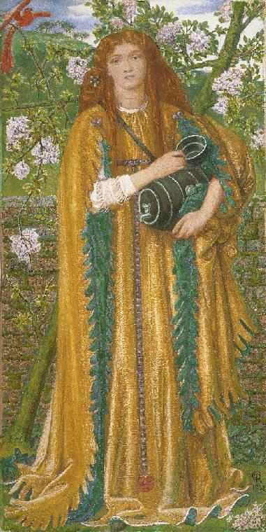 Dante Gabriel Rossetti. Golden water (Princess Paradise)