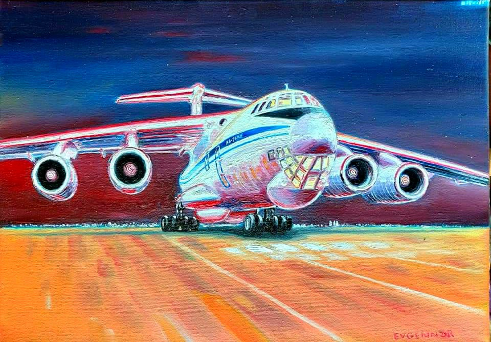 "Aviation Art. ""Начало"""